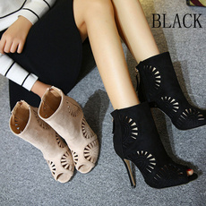 Shoes, Womens Shoes, leather, zippers
