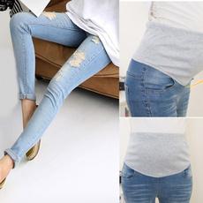 Women Pants, Fashion, Elastic, pants