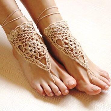 Sandals, Anklets, ankletsfootjewelry, bohosandal