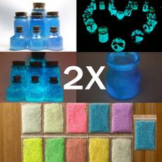 fluorescentlighting, Colorful, glowacrylic, glowinthedarksand