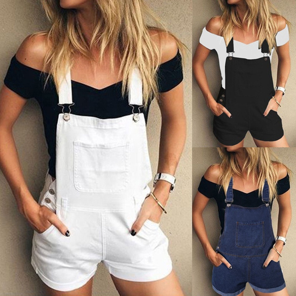 Summer, overalljean, Shorts, pants