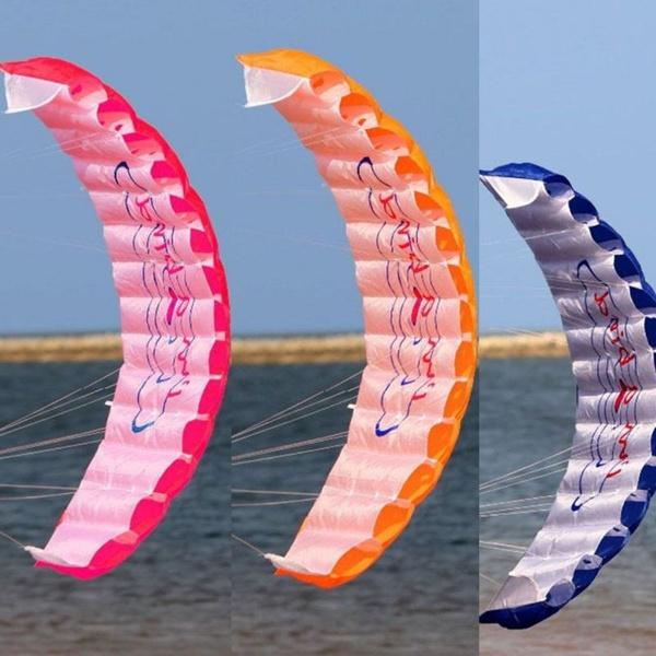 beachkite, sportkite, kite, rainbow