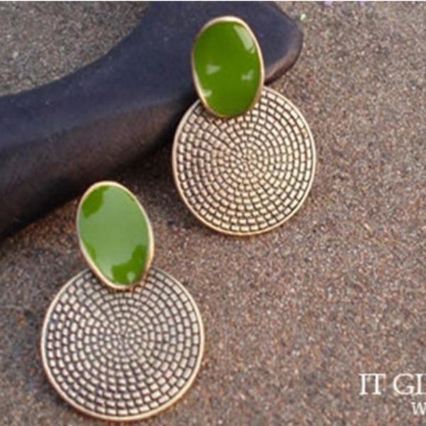 Jewelry, Stud Earring, Vintage, Elegant