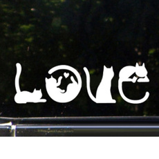 Car Sticker, Love, glasssticker, cute