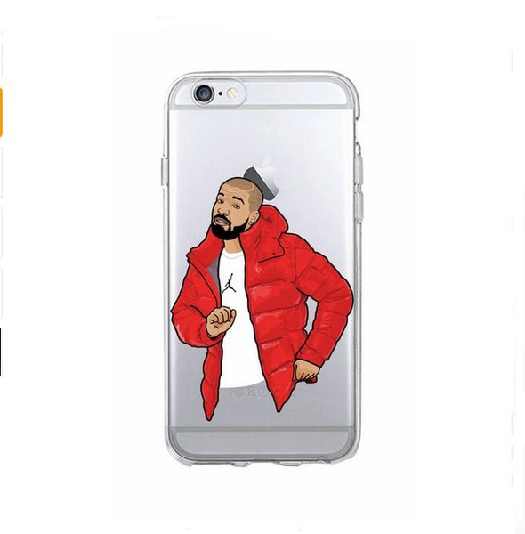 Cute Sexy Drake One Dance 6 God 1 800 Hotline Bling Soft Phone Fundas Coque For iPhone 7 7Plus 6 6S 6Plus 5 5S 5C | Wish