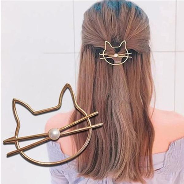 cute, metalhairpin, Fashion, Jewelry