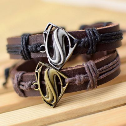 Charm Bracelet, giftsforkid, Superhero, Jewelry