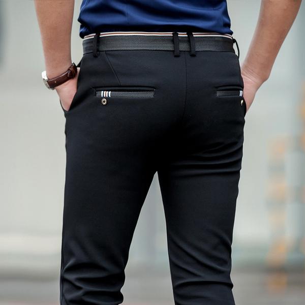 Long pants, Fashion, Elastic, pants