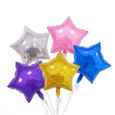 foilmetallicballoon, Star, Home Decor, Balloon