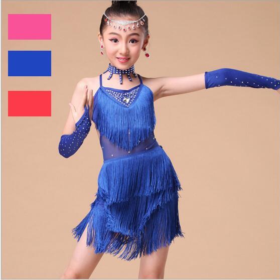 tasselsequinslatindancedres, whitegirlsleotarddanceballetdressskirt, latindancedressforgirl, Dress