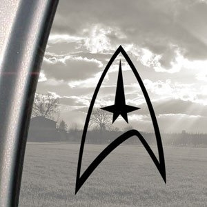 trek, Star, Stickers, Window