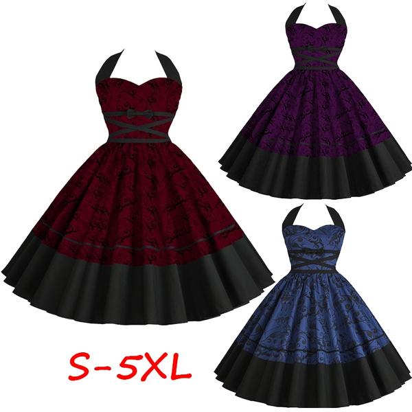 Swing dress, Loose, 50sswingdre, Vintage