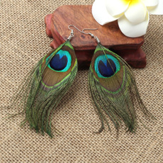 peacock, Fashion, Dangle Earring, Jewelry