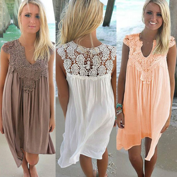 Mini, Fashion, Lace, chiffon