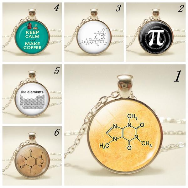 casualjewelry, caffeinecoffeenecklace, Jewelry, pinecklaceformen
