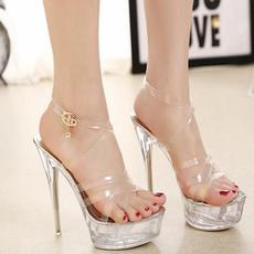 Sandals, Womens Shoes, Cross, High Heel