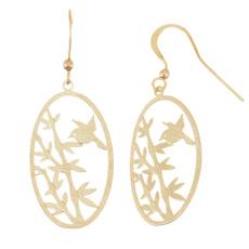 Earring, Jewelry, gold, oval