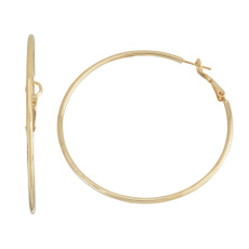 Earring, Joyería de pavo reales, gold