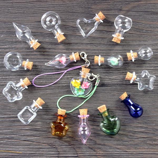 bottlesjar, Mini, bottlependantsnecklace, Jewelry