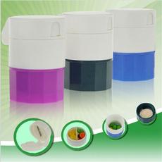 Box, Splitter, grinder, Tabletas