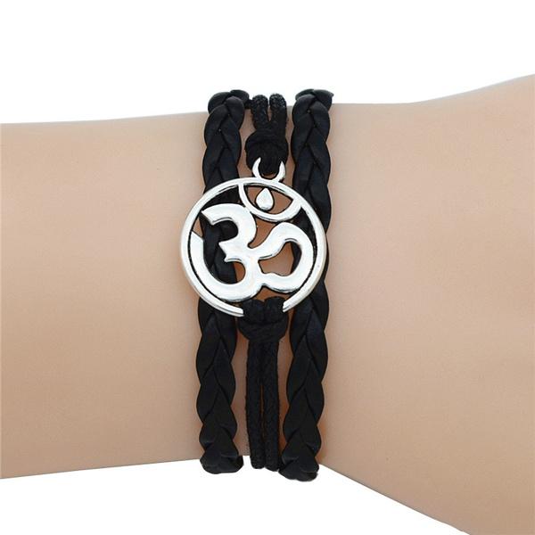 leathermultilayerbracelet, Antique, Women's Fashion & Accessories, Yoga