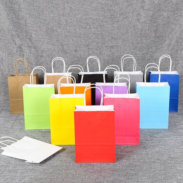 kraftpaperbag, Colorful, Gifts, Gift Bags