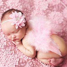 newborn, Flowers, Cosplay, Lace