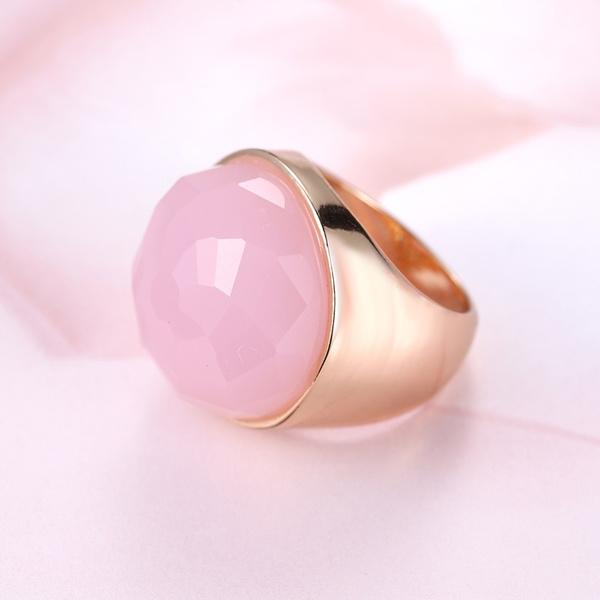 yellow gold, pink, Natural, wedding ring