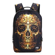 School, Skeleton, skull, Bags