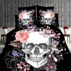 case, King, skull, quiltcover