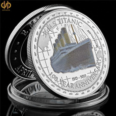 Collectibles, silvercoin, Jewelry, titanic