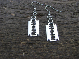 gothicearring, Goth, Unique, Dangle Earring