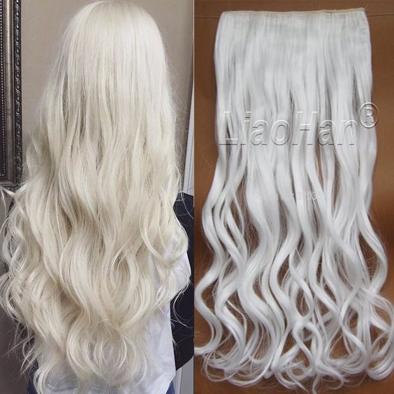 whitehair, Hairpieces, Hair Extensions, womenhairpiece