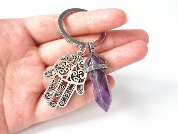 Key Chain, Gifts, Chain, hamsa