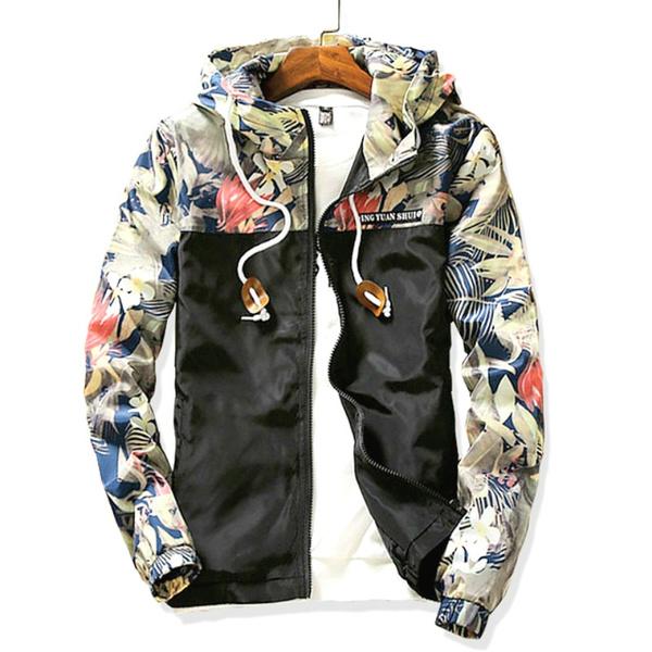 casual coat, Overcoat, women coat, Patchwork