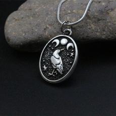 birdnecklace, Necklace, Vintage, Handmade