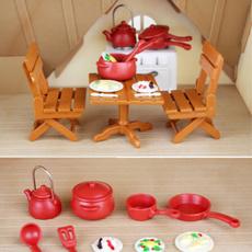 cute, Home Decor, doll, house