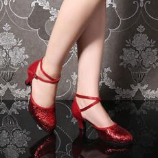 Ballroom, Womens Shoes, Dance, chunkyheel