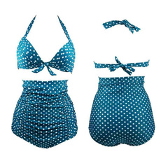 bathing suit, Plus Size, women beachwear, ruffle bikini
