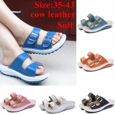 Summer, Sandals, cow, cute