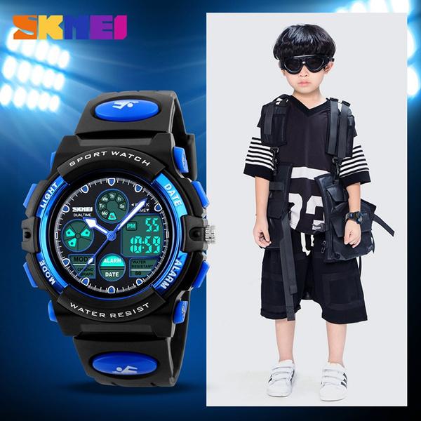 LED Watch, quartz, led, Outdoor Sports