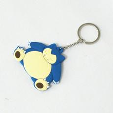 cute, Key Chain, Chain, snorlaxkeychain