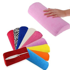 pink, manicure tool, art, Cushions