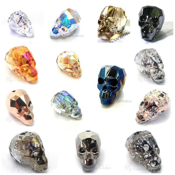 Genuine, Home Decor, skull, crystalprism