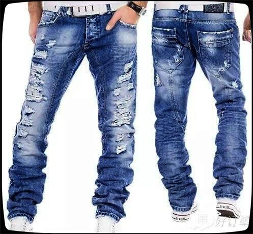 men's jeans, trousers, Cowboy, Trend