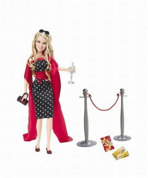 Glam, 5f99e22834b077611e4ae07e, Barbie, doll