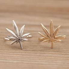 leaf, Women Ring, girlsring, marijuana