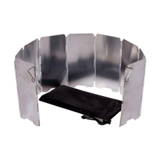 Foldable, campingcookinggasstovewindshieldscreen, Outdoor, Picnic