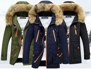 Jacket, Collar, warmjacket, Winter