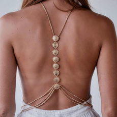 Summer, Chain Necklace, Fashion, Jewelry